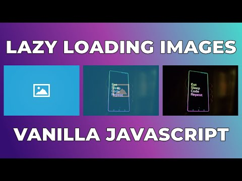 How to lazy load images in Javascript tutorial | Intersection Observer API