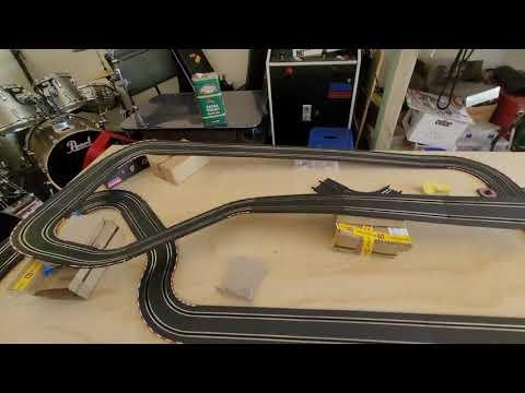 Carrera go 143 slot car scenic track | Carrera slot car scenic track update 1