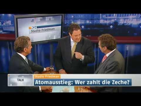 Studio Friedman: Atomausstieg - Lüge und Heuchelei? (Sendung vom 09.06.2011)