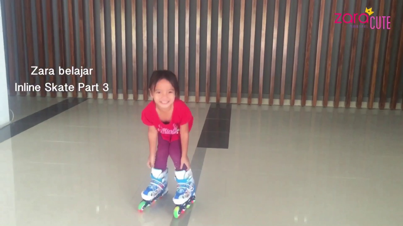 Zara cute main sepatu roda lagi (versi meluncur) - inline skate anak ... c92f085999