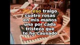 Cuatro Rosas - Jorge Celedon (KARAOTEKA MUSIC)