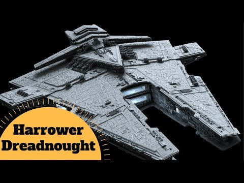 The Sith Empire Capital Ship - Harrower-class dreadnought COMPLETE BREAKDOWN - Star Wars Ships Lore