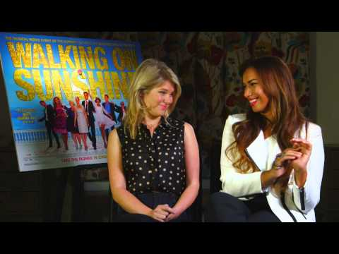Leona Lewis on her acting debut in Walking On Sunshine