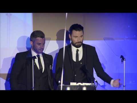 British LGBT Awards 2017 winner: Rylan and Dan ClarkNeal speech