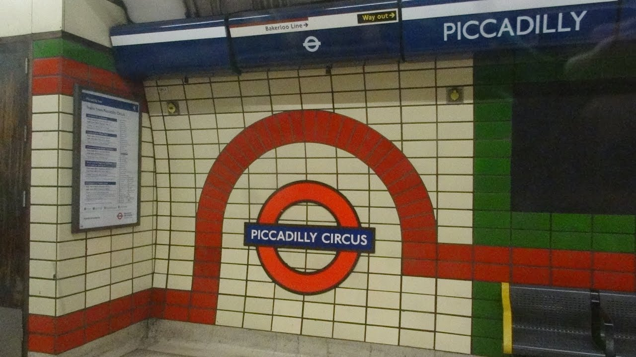 London Piccadilly Circus Underground station to Heathrow Airport