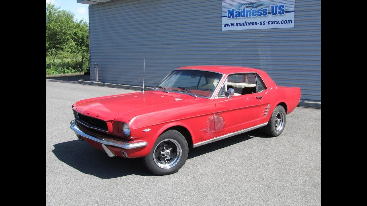 ford mustang coup 1966 restaurer youtube. Black Bedroom Furniture Sets. Home Design Ideas