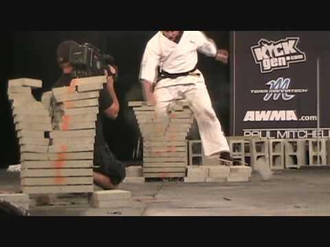 Master Drew Serrano- Power Concrete Palm- at the 2009 US Open