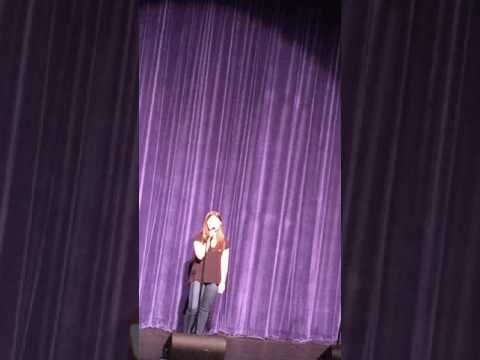 Beyoncé - Sandcastles - by Rachel Kelly, Seven Bridges Middle School Talent Show