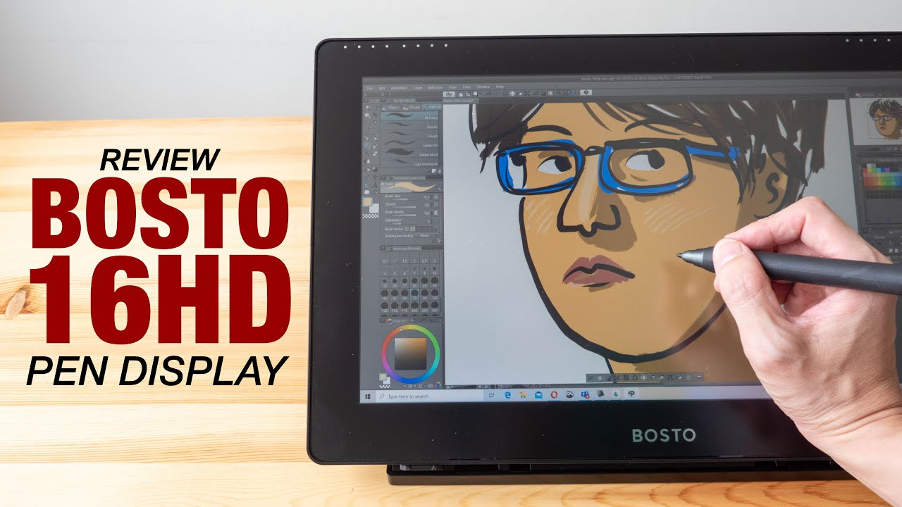 Review: Bosto 16HD Pen Display - YouTube