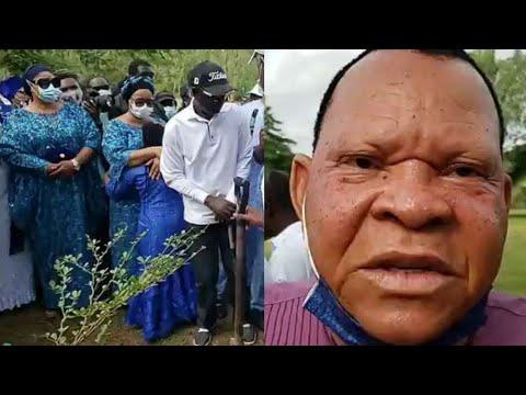ACTOR ELESHO, BIMBO OSHIN, FAMILY AND FRIENDS AT FINAL ẞURÍAL OF DUDU HERITAGE