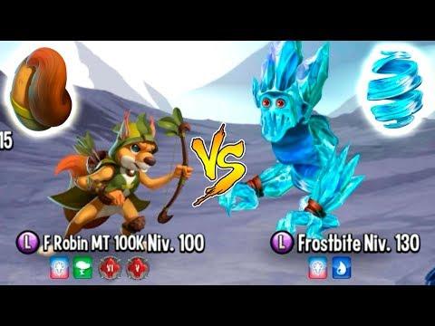 "Monster Legends - Mazmorra Furrius Robin Vs Frostbite ""Mythological labyrinth island"" - Maxi Tuning"
