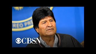 Bolivian President Evo Morales resigns after election fraud and protests