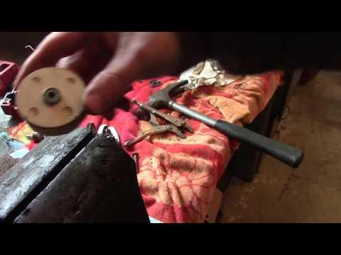 DIY Ball Bearing Lawnmower Blade Balancer