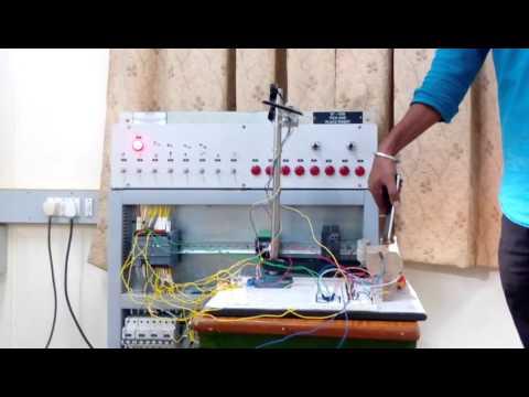 PLC based dual axis solar tracker