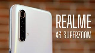 Обзор Realme X3 Superzoom. 120Hz / 855+/ 5X Оптика!