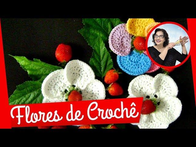CROCHE FLOR MODELO 047 - PARTE 1 Travel Video