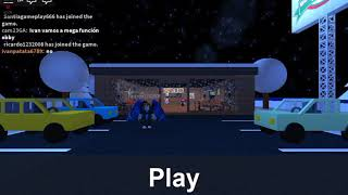 Playing Roblox pizza wol and prison life