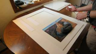 How to mat a print in an archival, conservation-safe manner