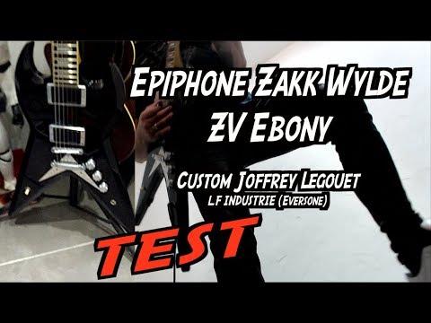 Epiphone Zakk Wylde ZV Custom J.L
