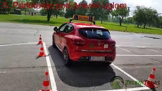 Auto škola Zeleni Talas - Poligon za B kategoriju - Zrenjanin