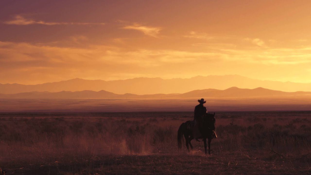 Cowboy Riding Horse Into Sunset Pictures To Pin On