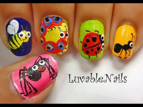 A Bug S Life Nail Art By Luvablenails