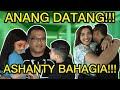 ASHANTY HEBOH MENYAMBUT ANANG DATANG, SAMPAI KAKI ANANG KESELEO!!