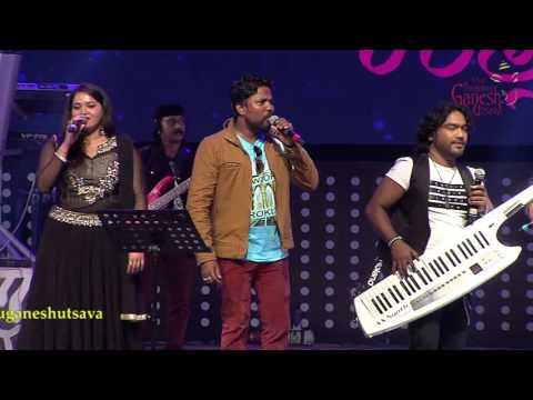 Impromptu song Composition by Arjun Janya & Troupe @ 53rd Bengaluru Ganesh Utsava..!!!