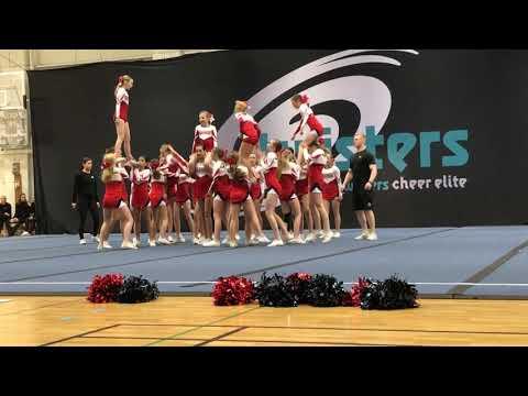 Dynamite Dynamics Twisters cheer elite