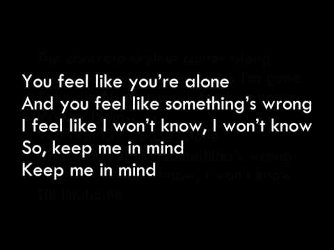 Cape Cub - Keep Me In Mind Official Lyrics HD