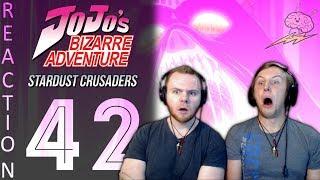 SOS Bros React - JoJo's Bizarre Adventure Part 3 Episode 42 - YES! YES! YES!