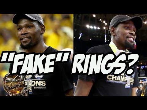 Do Kevin Durant's Rings Help His Legacy At All?