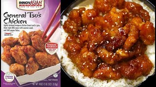 InnovAsian General Tso's Chicken - FINALLY a Good FROZEN Chinese Food?? - The Wolfe Pit