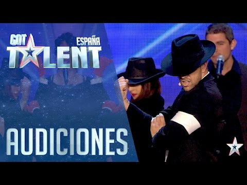 A tribute to the King of Pop Michael Jackson | Auditions 3 | Spain's Got Talent 2016