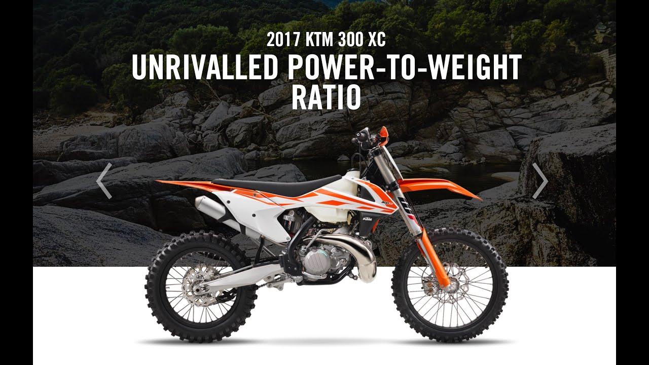 2017 ktm off road line reveal new dirt bikes - episode 122 - youtube
