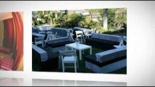 Outdoor Wedding Decorations Irvine, Laguna Beach, Dana Point, Persiano Events & Rentals