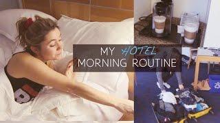 MY HOTEL MORNING ROUTINE | Hey Nadine