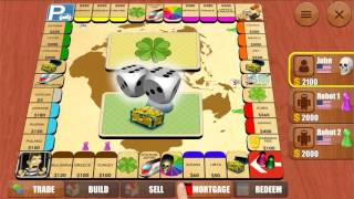 Gameplay of Rento 4  - Realize your monopoly