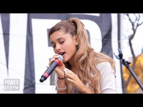 Ariana Grande - 'Right There' - Live Acoustic Performance