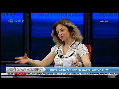 Gerçeği Duymaya Hazır Mısınız?  Bihin Edige & Zeynep Ergen - 21 Mayıs 2018 - KRT TV