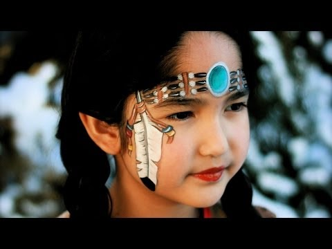 indianer schminken bilder