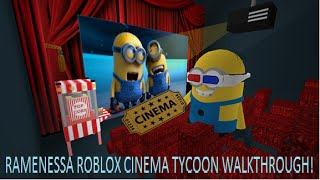 []ROBLOX[]CINEMA TYCOON[]FINISHED WALKTHROUGH[]