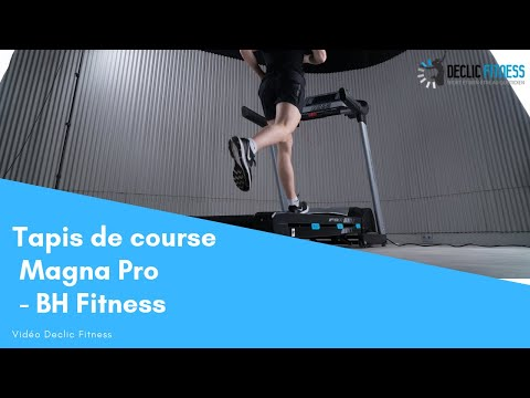 Tapis De Course Magna Pro Bh Fitness Declic Fitness Youtube