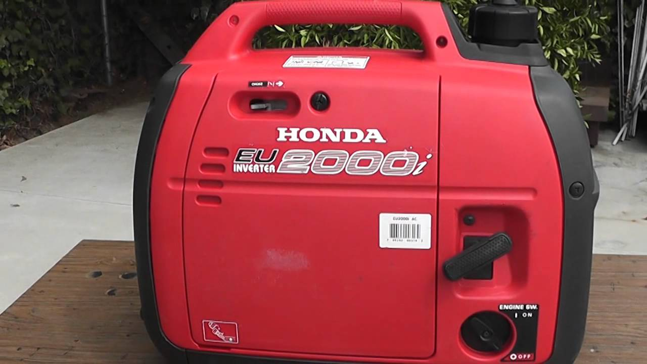 Lovely Honda Generator EU2000i 2000   Explained   YouTube