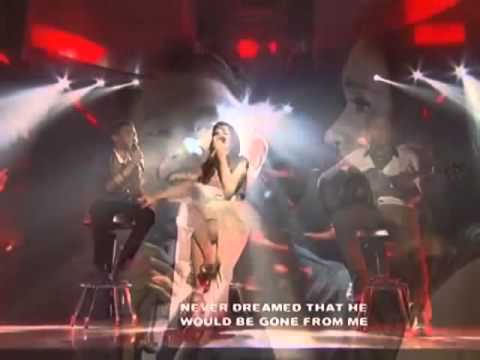 """Aldrich Talonding Feat. Angeline Quinto """"Dance with my father"""" cover en vivo"""