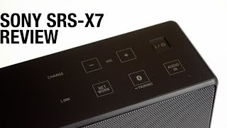 Sony SRS X7 Bluetooth Speaker Review