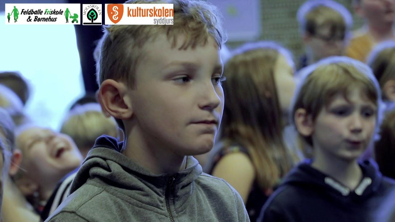 Syng dansk dag  - Molsskolen og Feldballe Friskole fredag den 27. marts 2019