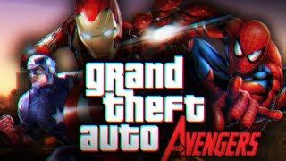 Мстители в ГТА / Обзор мода GTA San Andreas: The Avengers