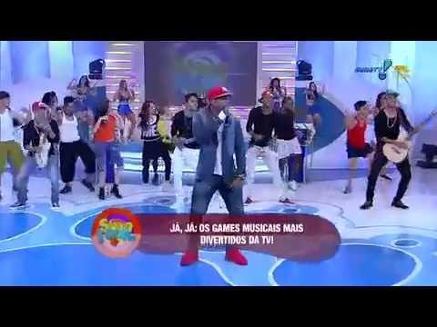 """Sábado Total - AO VIVO: Banda Gasparzinho canta """"Vai no Cavalinho"""""""