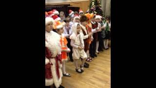 Открытый урок хора посвященный Новому году (ДМШ им. В.И. Сафонова)